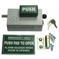Emergency Bolt Cooper Bolt 103 PUSH model Cooperbolt with alarm