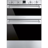 Smeg Classic multifunction double under counter oven 600 mm