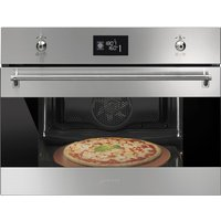 Smeg Classic compact multifunction pyrolitic oven 600 mm
