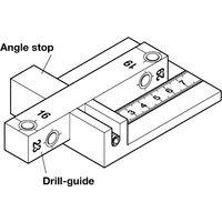 Precision Drilling Jig for Minifix GV Mitre Connectors