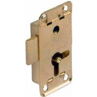Lever Rim Lock for Lever Bit Keys - 12.5 mm Backset