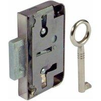 Lever Rim Lock for Lever Bit Keys - 15mm or 30 mm Backset