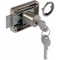 Rim Lock with Adjustable Backset - 22 mm Diameter Cylinder