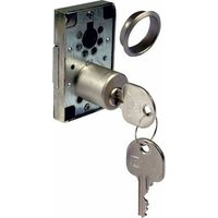 Rim Lock - 22 mm Diameter Cylinder, 40 mm Backset, Right Handed, Keyed Alike (Different H Keys)
