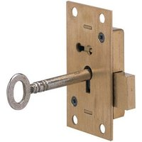 Straight Cupboard Rim Lock with Deadbolt
