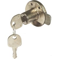 Minilock 40 Rim Lock - 18 mm Diameter Cylinder, Left Handed, Keyed Alike