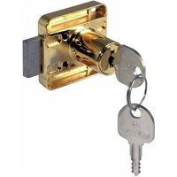 Keyed Alike Rim Lock for Cupboard and Cabinet Doors, Right Handed