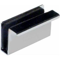 2-in-1 Finger Pull & Counterplate for Glass Doors 4 - 6mm Thick