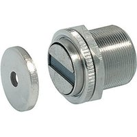 Magnetic Catch for Box Frame Metal Cabinets - Nut Fixing, Fixed Catch, 10kg Pull