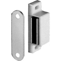 Magnetic Catch - Screw Fixing, Floating Catch, 6kg Pull, White