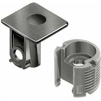 TAB Shelf Connector for 3 or 5mm Diameter Hole -  Screw Fixing