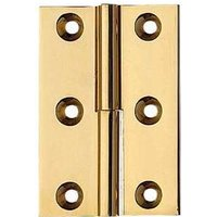 Lift off hinge, 76 x 41 mm