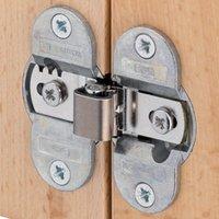 HAWA Prameta 180 Degree Sprung Folding Door Hinge