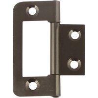 105 Flush hinge, steel, 50 x 24 mm