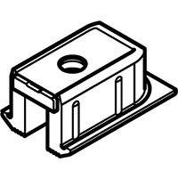 EKU Clipo Top track end cap, screw fixing