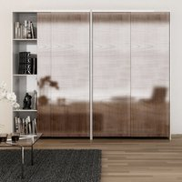 Eku Combino 45H Forslide, for 3 straight sliding wardrobe doors set - 25 mm thickness