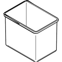 Universal Spare / Replacement Plastic Inner Bin, 18 Litres