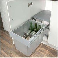 EKKO 40 pull-out waste bin, 24/34 litres