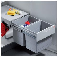 Space saving Tandem waste bin, 1x 18, 2x 8.5/2 x 18 litre