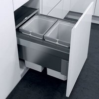 Oeko Liner pull-out waste bin, for 400 mm cabinet width