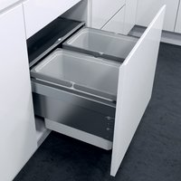 Oeko Liner pull-out waste bin, for 450 mm cabinet width