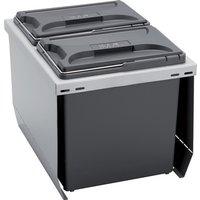 CUBE 400 S waste bin system, 2x 12 litre bins