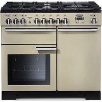 Rangemaster Professional Deluxe 100 range cooker, 1000 mm, Dual fuel