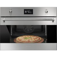 Smeg Classic compact pyrolytic pizza oven 600mm