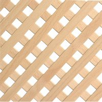 1200 x 600mm Decorative Wooden Slatted Radiator Panel - 4mm Thick