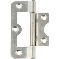 104 Hurlinge flush hinge, mild steel, 60 x 26 mm