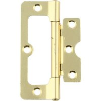 104 Hurlinge flush hinge, mild steel, 102 x 41 mm