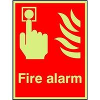 Standard 'Fire Alarm' Sign