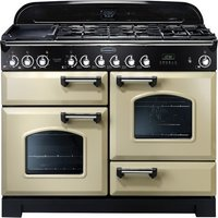 Rangemaster Classic Deluxe 110 range cooker, 1100 mm, Electric (induction)
