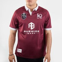 Queensland Maroons NRL 2020 Home S/S Rugby Shirt