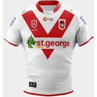 St George Illawarra Dragons 2020 NRL Home S/S Rugby Shirt