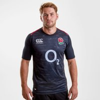 England 2018/19 Alternate Pro S/s Rugby Shirt