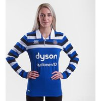 Bath 2018/19 Home Ladies L/s Classic Rugby Shirt