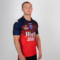 Fc Grenoble 2018/19 Alternate S/s Replica Rugby Shirt