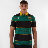 Northampton Saints 2019/20 Supporters S/S Cotton Rugby Shirt