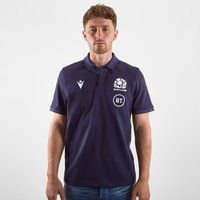 Scotland 2019/20 Home Cotton S/S Replica Rugby Shirt