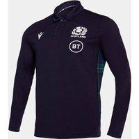 Scotland 2019/20 Home Cotton L/S Replica Rugby Shirt