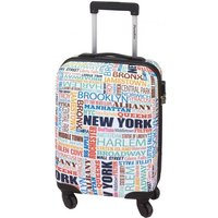 Check In Paradise New York 4-Rollen-Kabinentrolley XS 55 cm - bunt