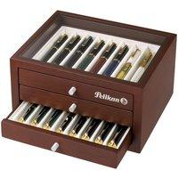 Pelikan Sammlerbox für 24 hochwertige Schreibgeräte - Wallnuss