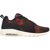Nike Women Air May Motion LW Print Training Schuh 844890 - 38,5 | black/black-max orange-gold dart