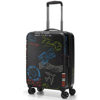 reisenthel travelling suitcase 4-Rollen-Kabinentrolley S 55 cm - special edition stamps
