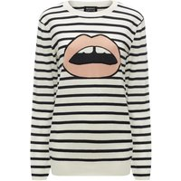 Natalie Breton Stripe Lara Lip Relaxed-Fit Jumper