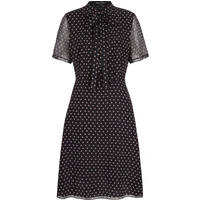 Hattie Star Silk Dress