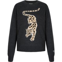 Tracy Leopard Intarsia Slim-Fit Jumper