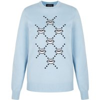 Mia Iconic Lip Intarsia Slim-Fit Jumper