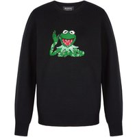 Mia Disney Kermit Sequin Slim-Fit Jumper